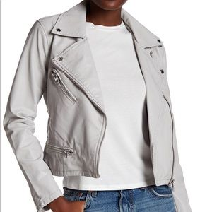 NWT BlankNYC Faux Leather Moto Jacket